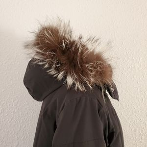 Post Card Italy Luxe Fur Hooded Puffer Parka 8